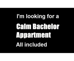 Looking for a Calm Bachelor / Studio - all included - 50 Adult male in OW