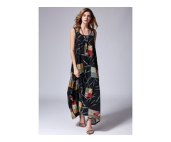 Sleeveless Maxi O Dress (1955123448)