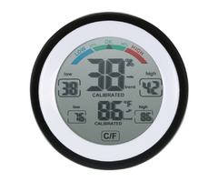 Multifunctional Digital Thermometer Hygrometer Temperature Humidity Meter Max Min Value Trend Displa
