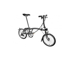 Brompton S6L 2020 Folding Bike Grey