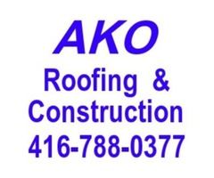 Affordable roofing services, skylight, roofs,eavestroughs, soffits repair / installation
