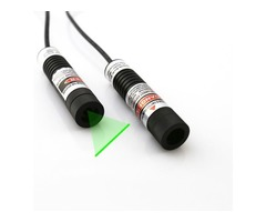 Highly Fine Glass Lens 5mW Green Laser Line Generator