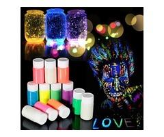 DIY Graffiti Paint Luminous Body Painted Waterborne Noctilucan Pigment Acrylic Glow in the Dark Part