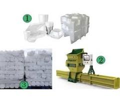 Polystyrene recycling machine GREENMAX APOLO C200