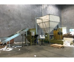 Styrofoam recycling machine GREENMAX apolo C300