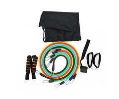 11pcs/set Pull Rope Fitness Exercises Resistance Bands for sale