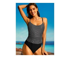 Polyester One-piece Swimwear (30015394940)