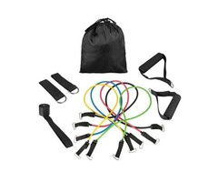 Quality 11pcs/set Pull Rope Fitness Exercises Resistance Bands for sale