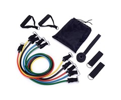 Durable 11pcs/set Pull Rope Fitness Exercises Resistance Bands for sale