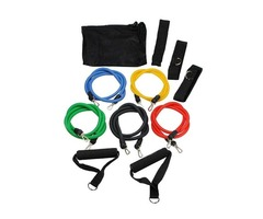 (11pcs//set) Pull Rope Fitness Exercises Resistance Bands for sale