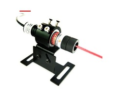Wide Fan Angles 5mW Economy Red Line Laser Alignment