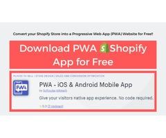 Progressive Web App | Best Free Shopify app for PWA