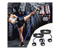 40 Pounds Elastic Rope Leg Training Exercise Belt Sports Bandage Yoga Agility Training Pull Rope