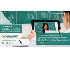 Hire Canadian Online Tutoring | Virtual Tutoring