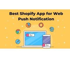 Web Push Notifications | Best Shopify app by Softpulse Infotech