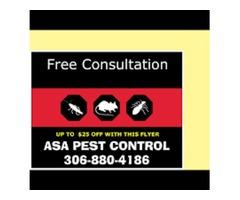 Residential Pest Control Services Saskatoon - ASA Pest Control