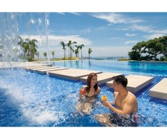 Amara is a high-end seaside residential community in Cebu island