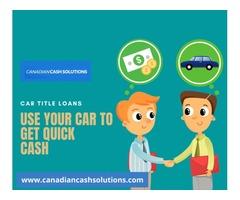 Car Title Loans Oakville -Fastest Long Term Loan