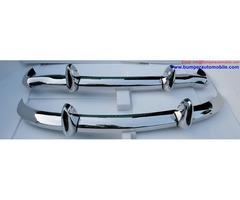 MGB (1962-1974) bumpers stainless steel