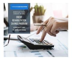 Credit Rehabilitation Savings Program- Rebuild Your Credit