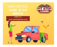 Solve Financial Crisis With Car Title Loans Dartmouth