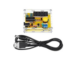 Geekcreit® 1Hz-50MHz Crystal Oscillator Frequency Tester Counter Meter With Case