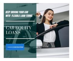 Borrow With Car Equity Loans Richmond Hill