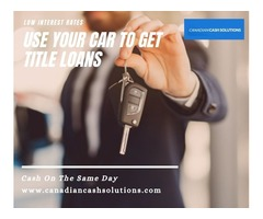 Same Day Cash With Car Equity Loans Vancouver
