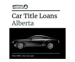 Car title loans Alberta: An easy loan against car title bad credit