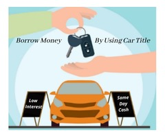 Regain Financial Stability With Car Title Loans