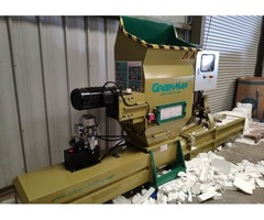 EPS recycling solution by Using GREENMAX machine A-C200