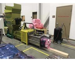 PE foam Recycling by Using compactor Z-C100