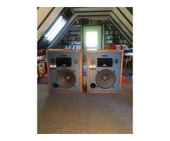 JBL 4333A studio monitors