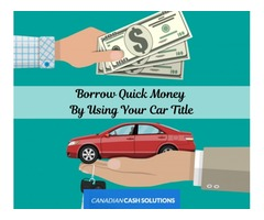 Easy Steps To Car Title Loans Barrie