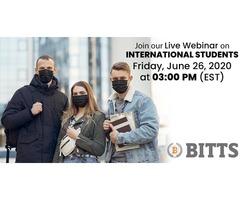 BITTS for International Students-Live webinar