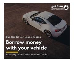 Bad Credit Car Loans Regina – Any credit accepted loans