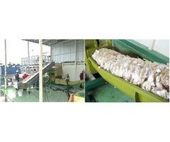 Beverage cartons draining machine of GREENMAX  Poseidon series