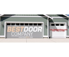 Assist with The Garage Door Company for repair and replacement