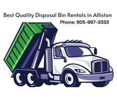 Miller Bins Provides With Best Quality Disposal Bin Rentals in Alliston