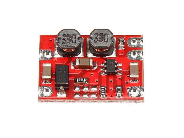 5pcs DC-DC 2.5V-15V to 3.3V Fixed Output Automatic Buck Boost Step Up Step Down Power Supply Module  | free-classifieds-canada.com